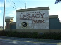 Legacy Park / Located off of US 27 / A short drive to Disney's main gates on World Drive Hwy. 192.