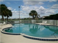 Hampton Lakes Community Pool. All homes also have a private pool in your backyard.