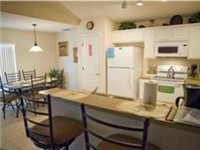 Large kitchen with dinette.