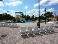 Plenty of loungers around your large pool