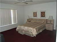 Master Queen bedroom with master bath
