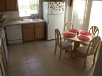 Nice eat in kitchen with plenty of counter space