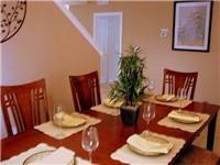 Formal dinning area