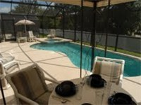 Lovely pool and spa and covered lanai. Great for enjoying meals poolside.
