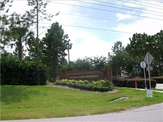 Highlands Reserve located off of US 27 in Davenport and only a ten mile drive to Disney's main gates on World Drive.