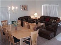 One of Two Living areas / Large dinning room table for those nice family dinners.