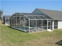Lovely screened enclosed pool