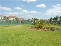 Tuscan Hills Tennis Courts and lovely landscaping