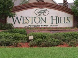 Weston Hills Entrance