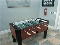 Foosball in Clubhouse