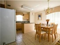 Large and lovely kitchen with eat in area