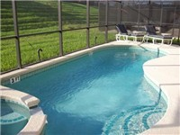 Sparkling Pool and lovely deck