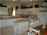 Very large and lovely fully equipped kitchen.