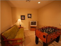 Futon Room with TV and Foosball