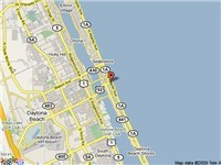 Daytona Beach A1A  Map