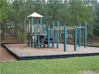 Playground on property