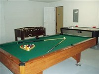 Gameroom with Pool, AirHockey and Foosball