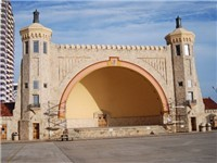 Bandshell where many free concerts are held. Located directly on the beach.