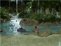 Regal Palms--Night Swimming The pool complex at Regal Palms Resort stays open until 11 p.m. The resort also hosts pool parties,