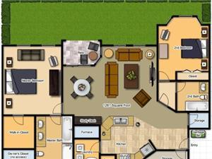 terrace ridge floor plan