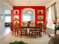 Gather the family for a nice vacation dinner in the dinning room.