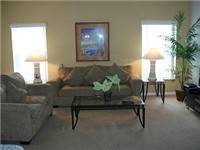 One of two living areas