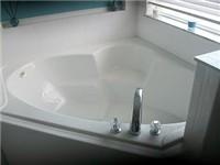 Master Bedroom Garden Tub and shower