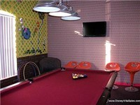 Game Room with Pool table and foosball