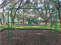 Indian Ridge Oaks swings and jungle gym