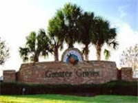 Greater Groves Entrance