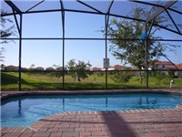 Rest and relax on your deck and enjoy your sparkling pool.