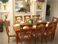 Spacious dinning area for family meals