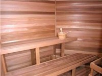 Clubhouse Sauna