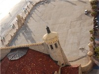 Ariel view of the bandshell