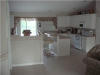 Very large and open kitchen