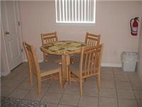 Kitchen area dinette