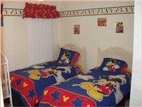 Very cute twin room. Kids love it, but adults can also enjoy as it has adult twin beds.