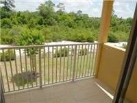 Balcony off the master bedroom
