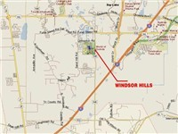 Windsor Hills Map