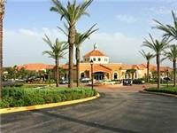Lovely entrance to Regal Palms Resort