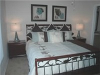 King Master Bedroom, plus a Queen Bedroom and a bedroom with Twin beds.