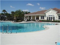Clubhouse and Pool with Children's splash pool