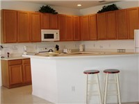 Kitchen with Counter Bar