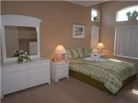Large and lovely second bedroom with Queen bed and ensuite bath