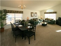 Spacious Living and Dinning area