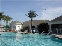 Windsor Palms Pool / In addition to this beautiful community pool, all vacation homes have a private pool.
