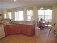 Beautiful open and spacious kitchen and dinning area.