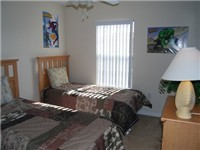 Twin Bedroom / One of two twin bedrooms