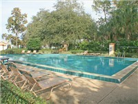 Indian Ridge Oaks community pool. In addition to the community pool, all our homes have their own private pool.