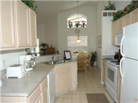 Spacious kitchen and dinette